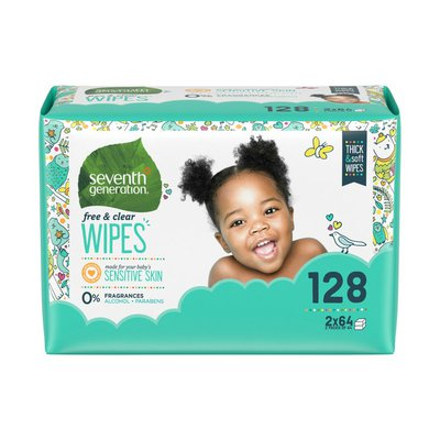 Seventh Generation Baby Wipes Refill Free & Clear