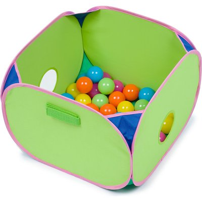 "Marshall Pet Products Pop N Play Ferret Ball Pit Toy 14"" L X 14"" W X 10"" H"