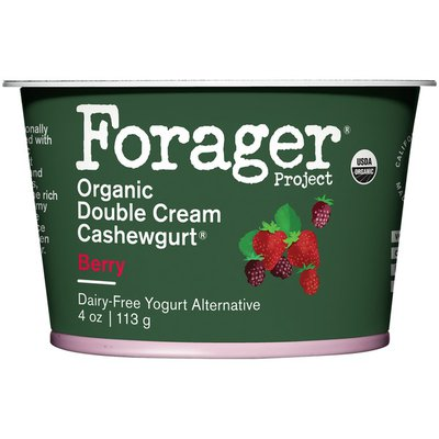 Forager Project Berry Organic Double Cream Dairy-Free Yogurt Alternative