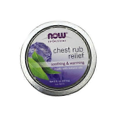 Now Chest Rub Relief Soothing & Warming