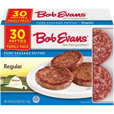 Bob Evans Farms Regular Pork Sausage Patties