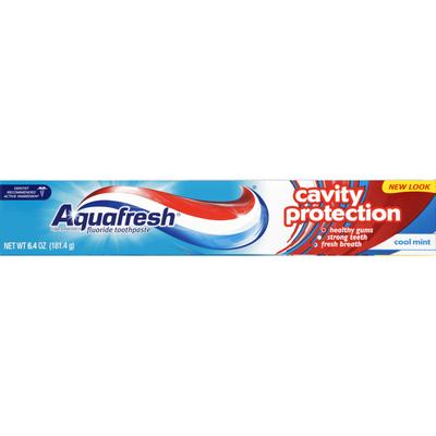Aquafresh Toothpaste, Fluoride, Cavity Protection, Cool Mint