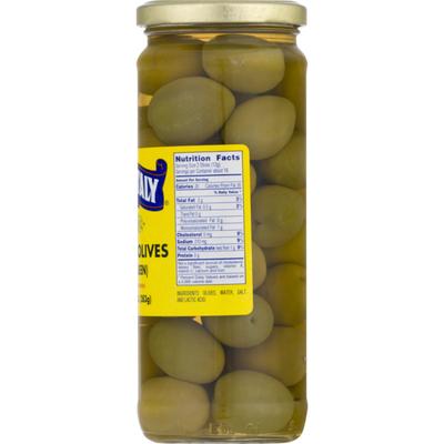 Sun Of Italy Spanish Olives, Plain Queen, Jar