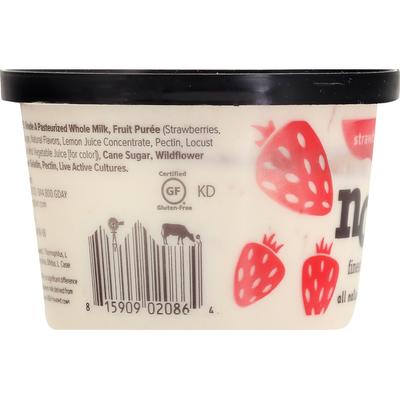 noosa Yoghurt, Finest, Strawberry, Blended