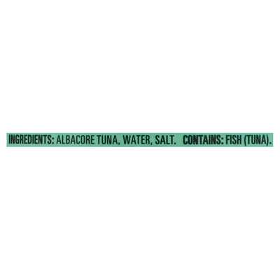 Open Nature Tuna in Water, Albacore, Chunk White