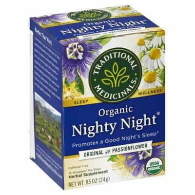 Traditional Medicinals Organic Nighty Night, Caffeine Free Herbal Tea