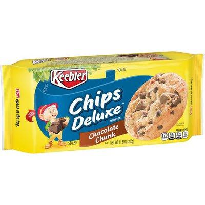 Keebler Chips Deluxe Cookies Chocolate Chunk