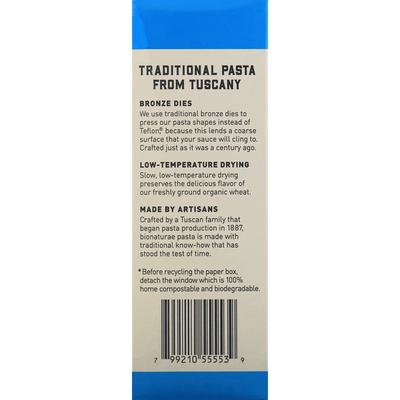 bionaturae Penne Rigate, Durum Semolina, 100% Organic