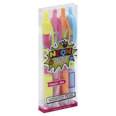 Smens Pens, Scented, Neon, Gel Ink