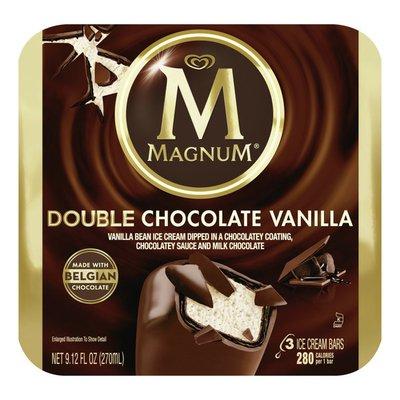 Magnum Ice Cream Bars Double Chocolate Vanilla