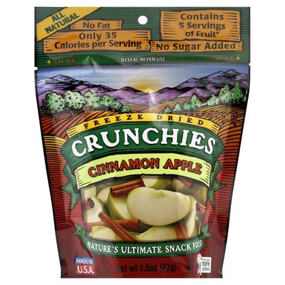 Crunchies Cinnamon Apple, Freeze Dried