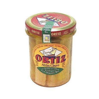 Conservas Ortiz Yellowfin Tuna In Organic Olive Oil