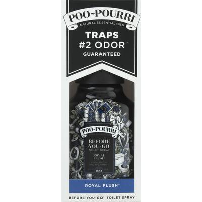 Poo Pourri Toilet Spray, Eucalyptus & Spearmint, Royal Flush