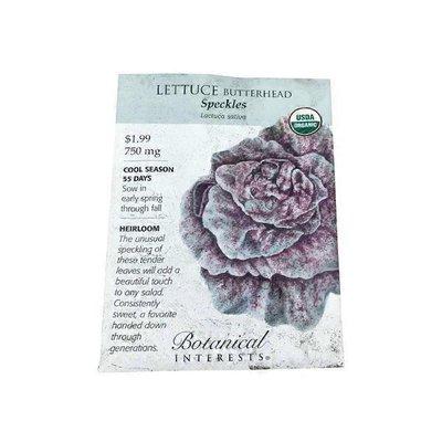 Botanical Interests Lettuce Butterhead Speckles