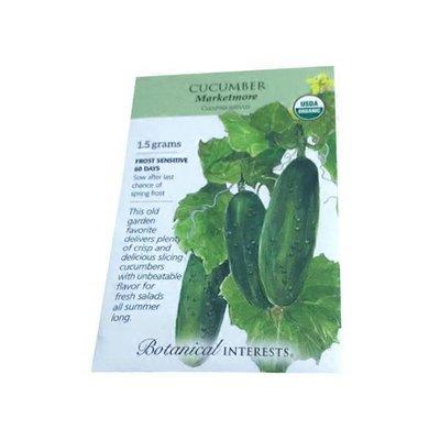 Botanical Interests Organic Cucumber Marketmore Seeds