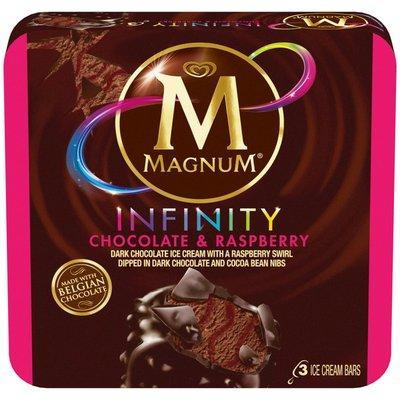 Magnum Ice Cream Bars Infinity Chocolate And Raspberry
