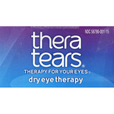 TheraTears Eye Drops, Lubricant, Dry Eye Therapy