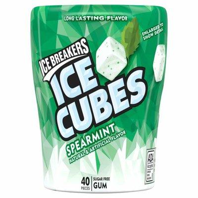 Ice Breakers Gum, Sugar Free, Ice Cubes, Spearmint
