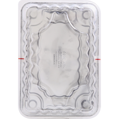 Handi-Foil Cake Pans & Lids, Rectangular, Two