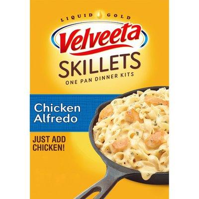 Kraft Velveeta Chicken Alfredo One Pan Dinner Kit with Cheese Sauce, Pasta & Seasonings