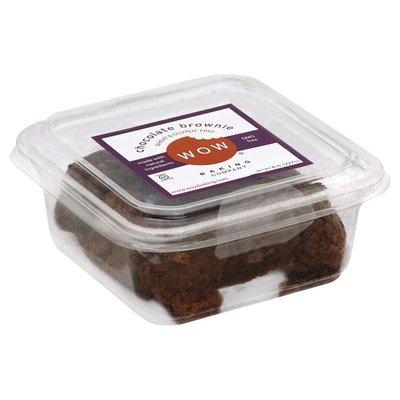 WOW Baking Company Brownie, Wheat & Gluten Free, Chocolate
