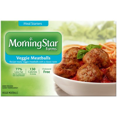 Morning Star Farms Meal Starters Veggie Meatballs
