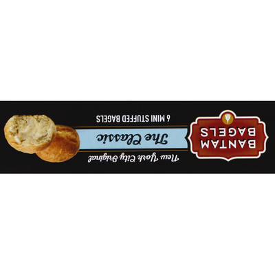Bantam Bagels Stuffed Bagels, The Classic, Mini