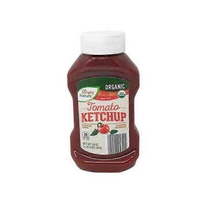 Simply Nature Organic Ketchup