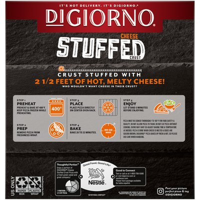 DiGiorno Five Cheese Frozen Pizza with Cheese Stuffed Crust