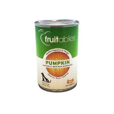 Fruitables Pumpkin Nature's Fiber Rich Superfood Dog & Cat Mix Food Supplement
