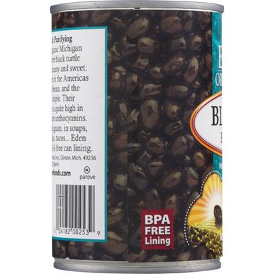 Eden Foods Black Beans, No Salt Added