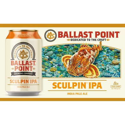 Ballast Point IPA Craft Beer Cans