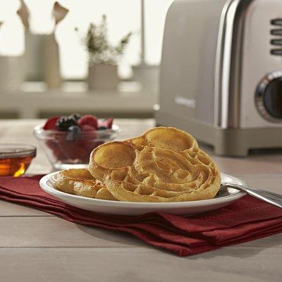 Eggo Disney Mickey Mouse Mini Frozen Pancakes, Frozen Breakfast, All Day Kids Snacks, Homestyle