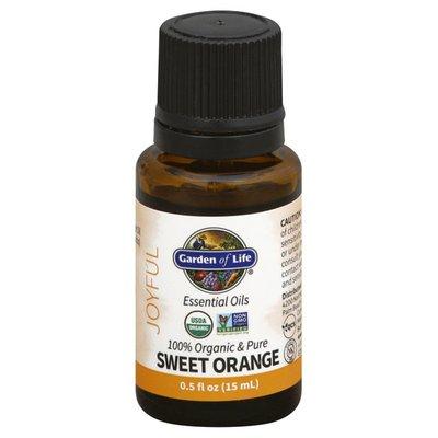 Garden of Life Essential Oils, Sweet Orange