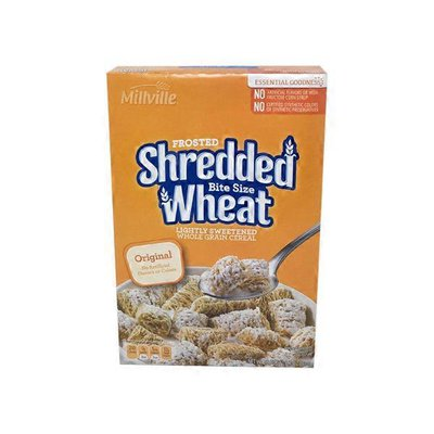 Millville Frosted Bite Size Shredded Wheat