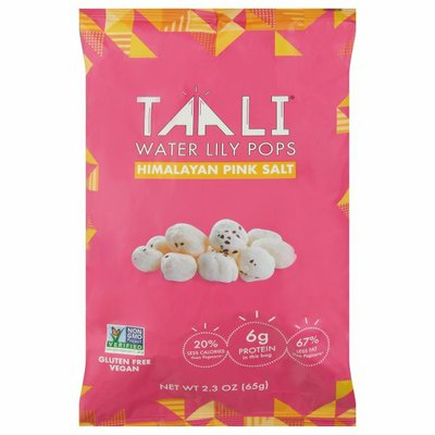 Taali Water Lily Pops, Himalayan Pink Salt