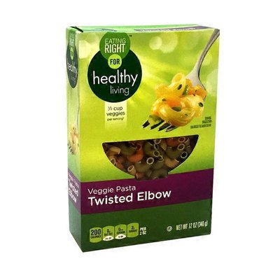 Eating Right Veggie Pasta With Durum Wheat Twisted Elbow