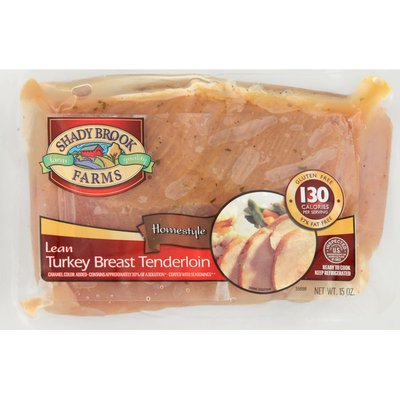 Shady Brook Farms Turkey Breast Tenderloin, Lean, Homestyle