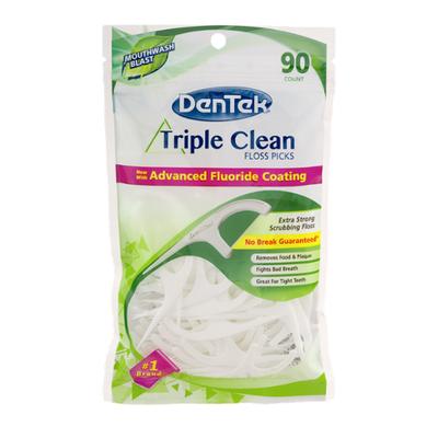 DenTek Floss Picks, Triple Clean