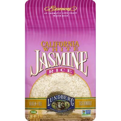 Lundberg Family Farms White Rice, Long Grain, California Jasmine