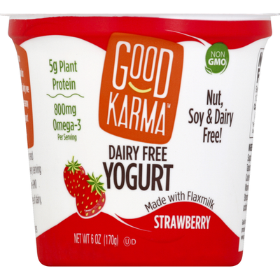 Good Karma Yogurt, Dairy Free, Strawberry