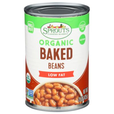 Sprouts Organic Vegetarian Baked Beans