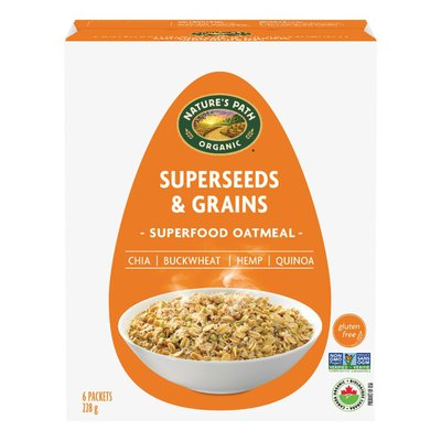 Nature's Path Qi'a Superseeds & Grains Superfood Oatmeal