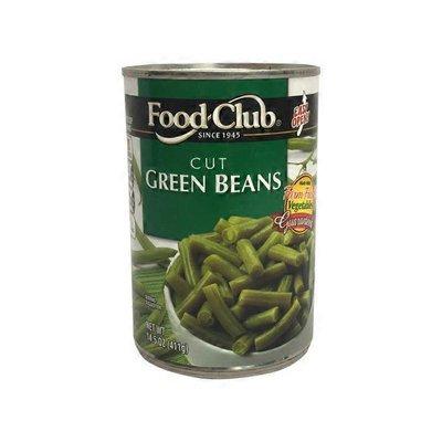 Food Club EZ-Open Cut Green Beans