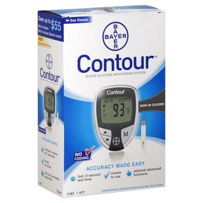 Contour Blood Glucose Monitoring System, Black