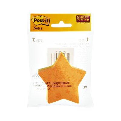 Post-it Star Super Sticky Notes - 2 PK