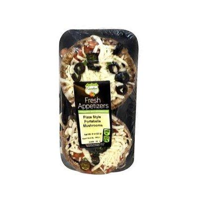 Garden Highway Pizza Stuffed Portabella Mushrooms