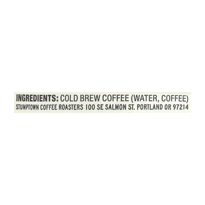 Stumptown Coffee Roasters Original Cold Brew Coffee