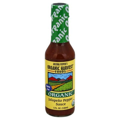Organic Harvest Foods Sauce, Organic, Jalapeno Pepper
