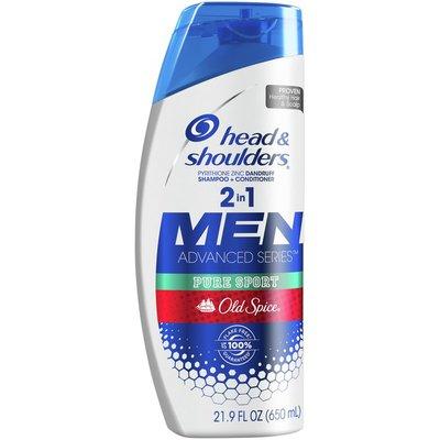 Head & Shoulders Old Spice Pure Sport Anti-Dandruff 2 In 1 Shampoo And